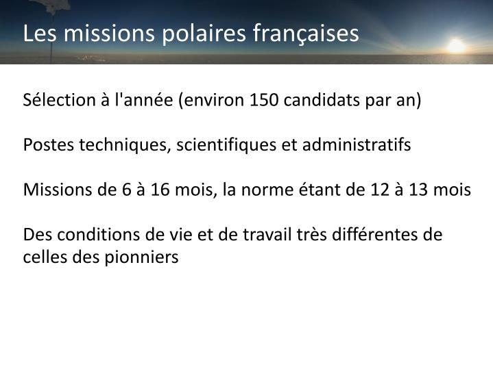 Les missions polaires françaises