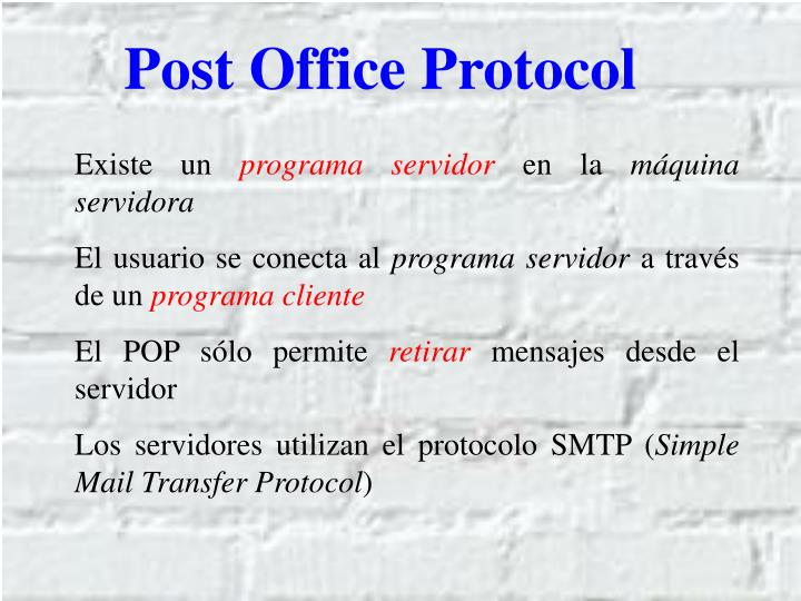Post Office Protocol
