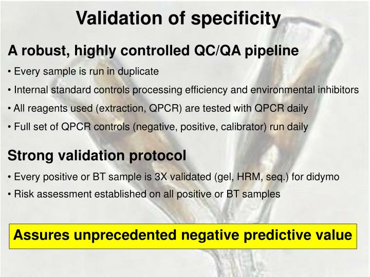 A robust, highly controlled QC/QA pipeline