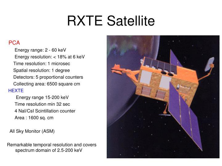 RXTE Satellite
