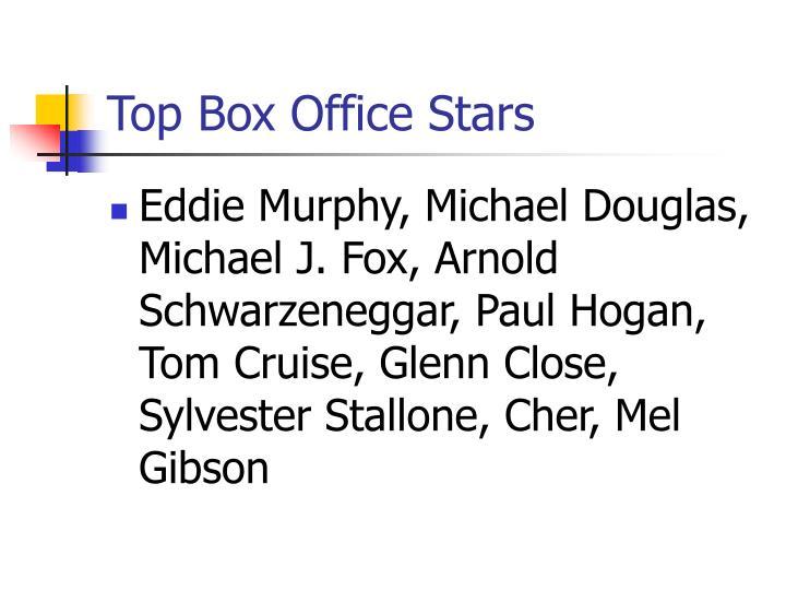 Top Box Office Stars