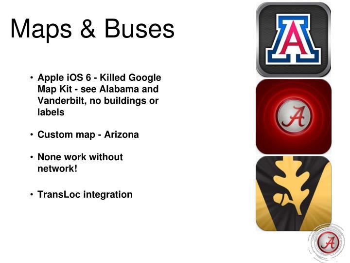 Maps & Buses