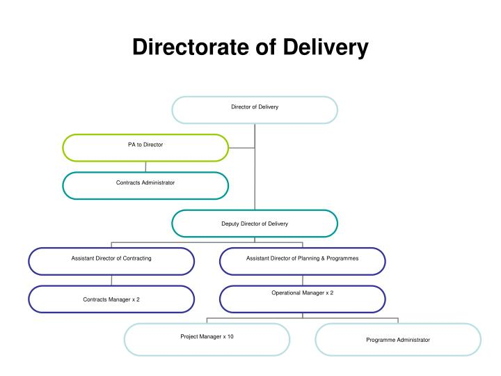 Directorate of Delivery