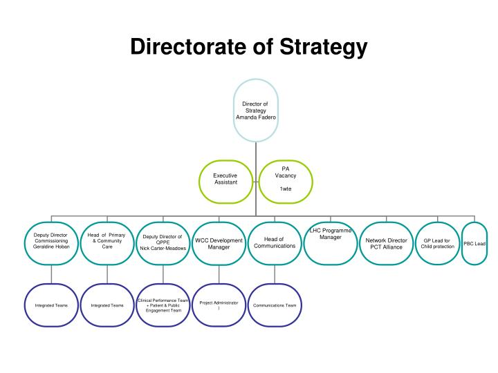 Directorate of Strategy
