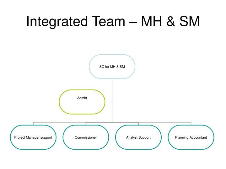 Integrated Team – MH & SM
