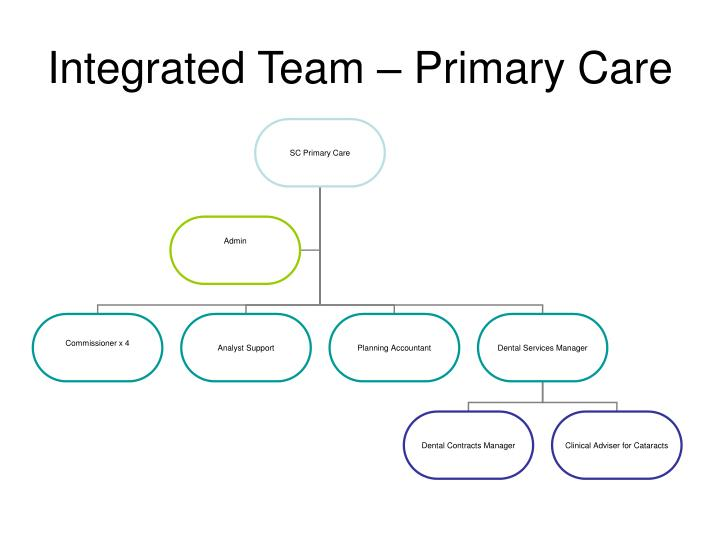 Integrated Team – Primary Care