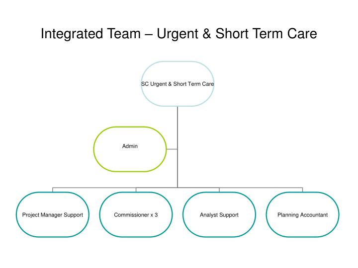 Integrated Team – Urgent & Short Term Care