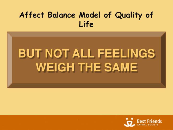 Affect Balance