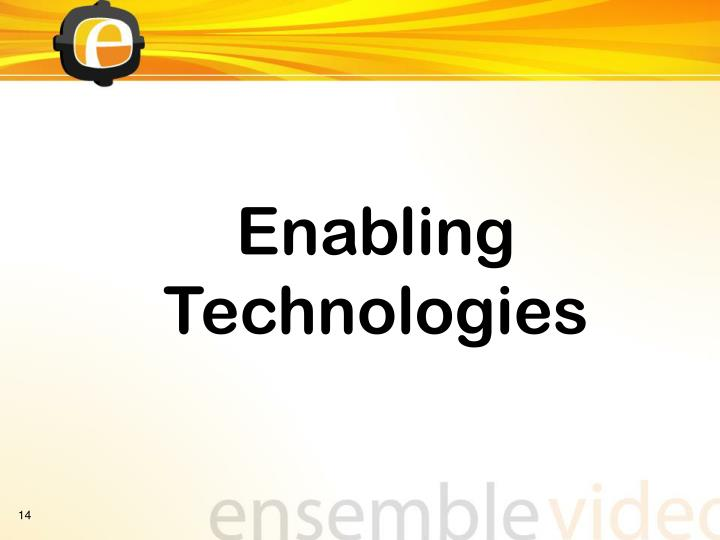 Enabling