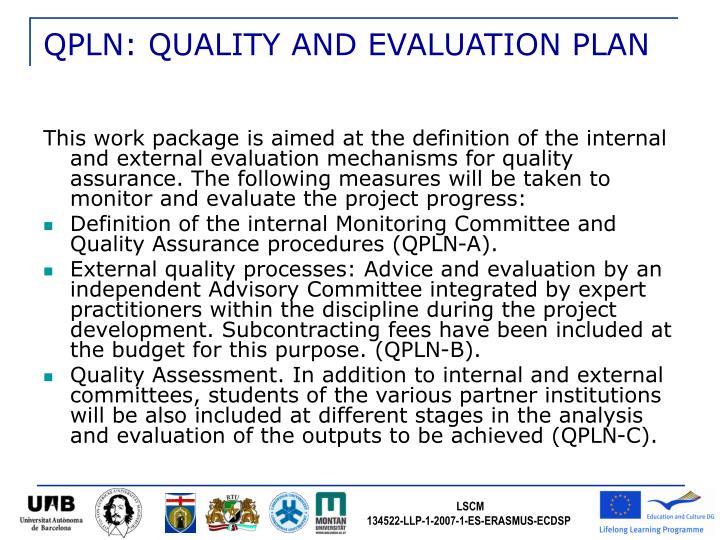 QPLN: