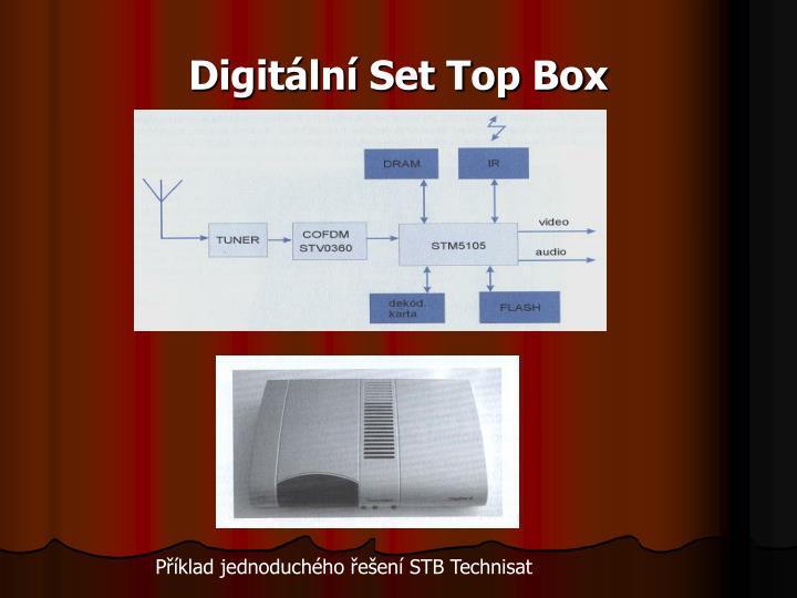 Digitální Set Top Box