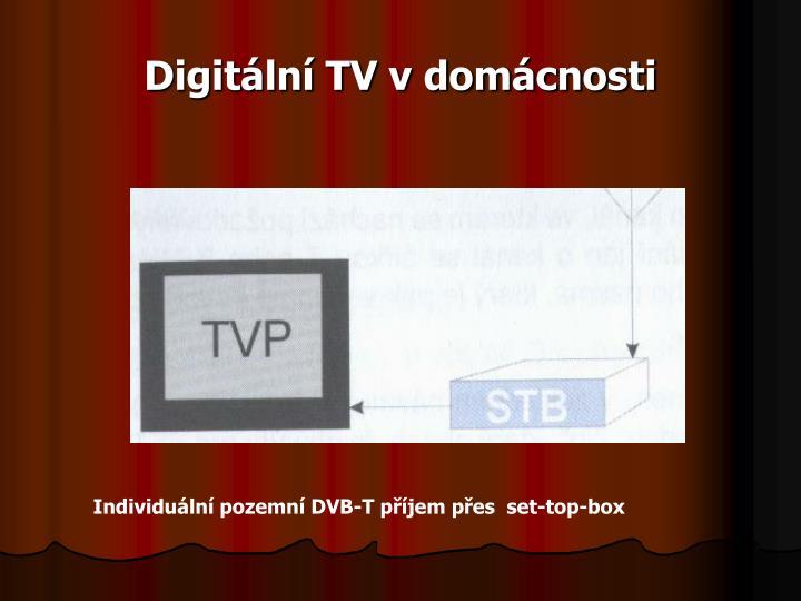 Digitální TV v domácnosti