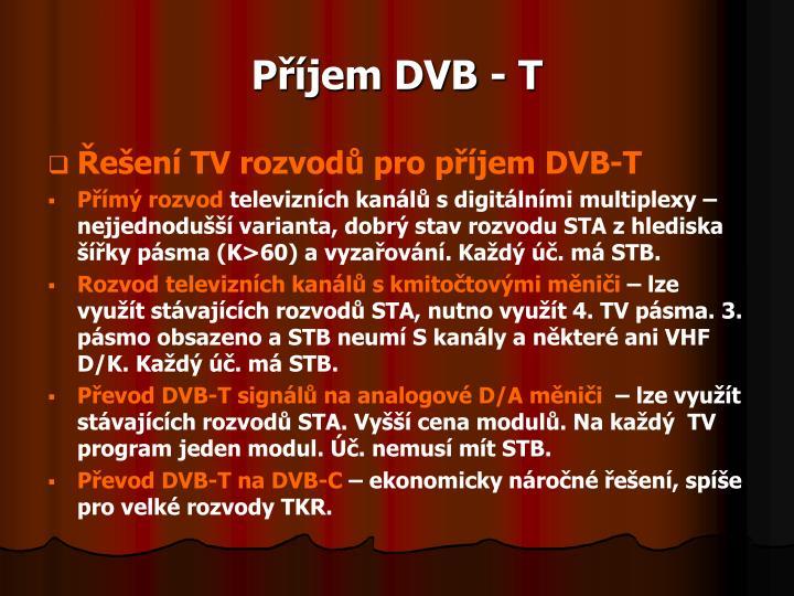 Příjem DVB - T