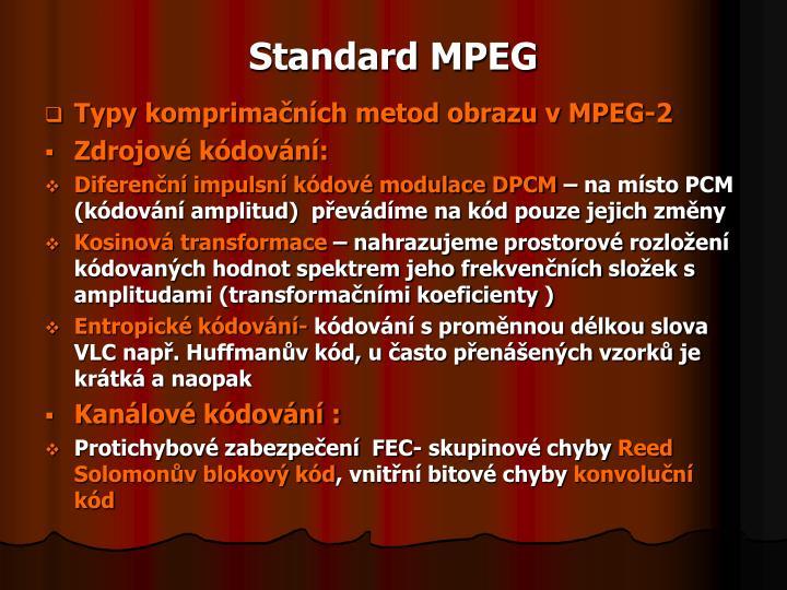Standard MPEG