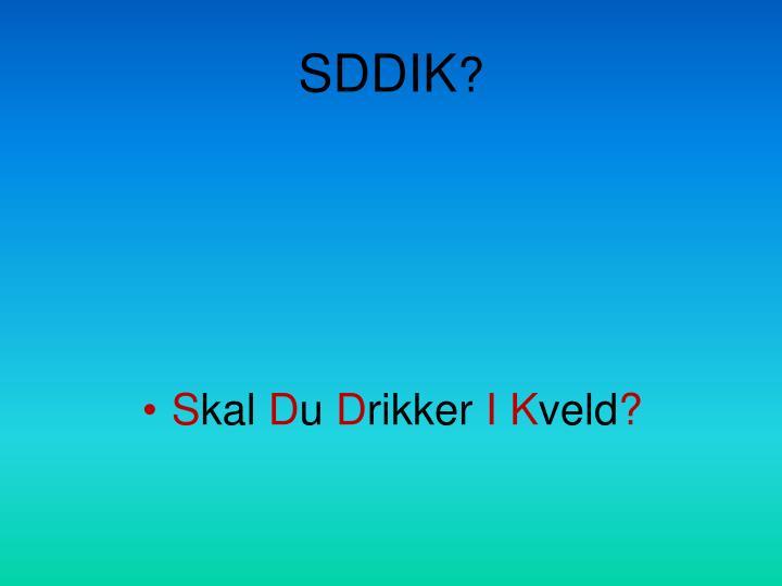 SDDIK