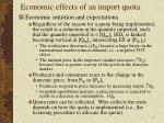 economic effects of an import quota2