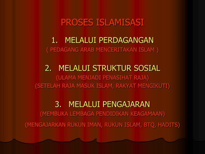 PROSES ISLAMISASI