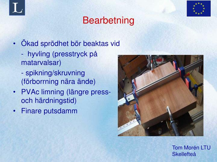 Bearbetning