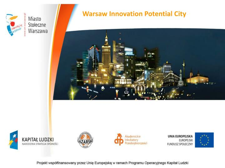 Warsaw Innovation Potential City