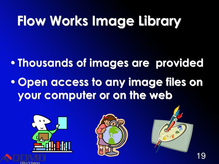 Flow Works Image Library