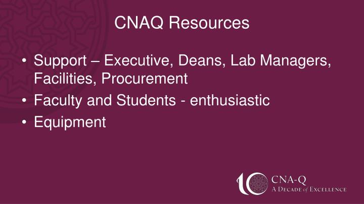 CNAQ Resources