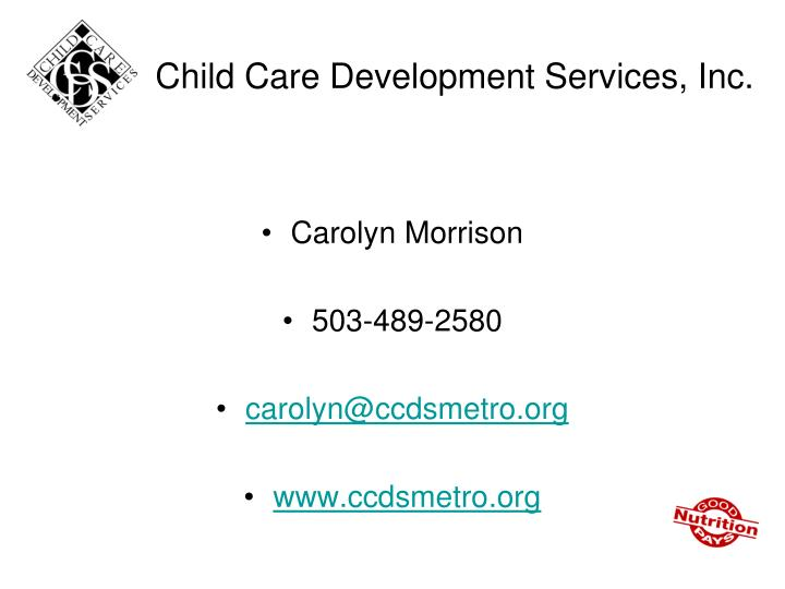 Child Care Development Services, Inc.