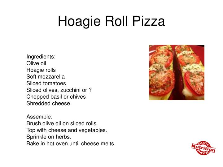 Hoagie Roll Pizza