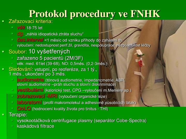 Protokol procedury ve FNHK