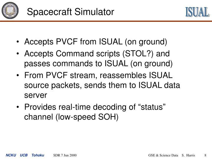 Spacecraft Simulator