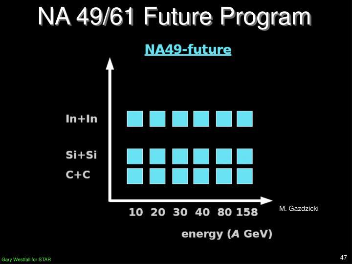 NA 49/61 Future Program