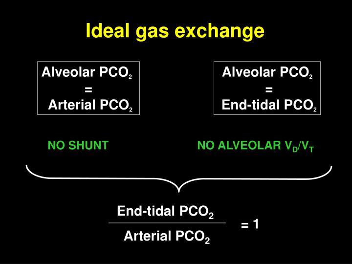 End-tidal PCO