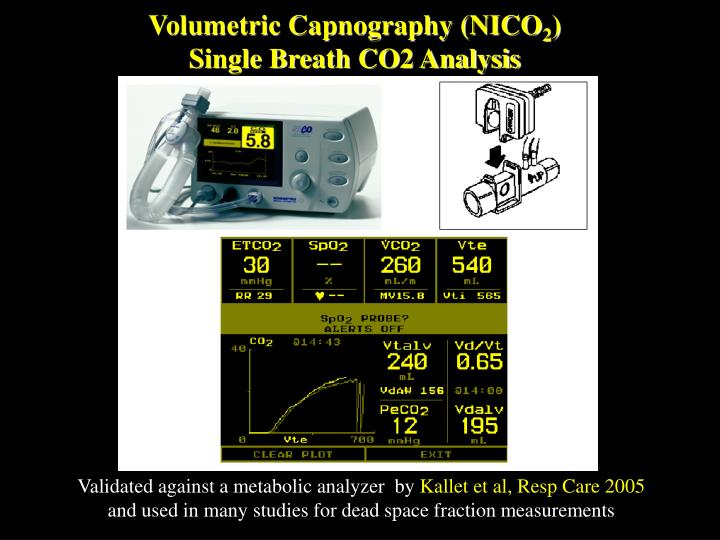Volumetric Capnography (NICO