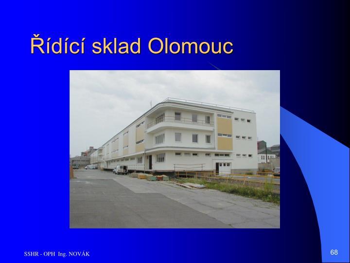 Řídící sklad Olomouc