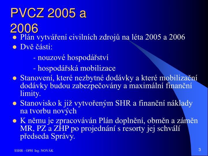 PVCZ 2005 a 2006