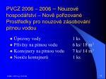 pvcz 2006 2006 nouzov hospod stv nov po izovan prost edky pro nouzov z sobov n pitnou vodou