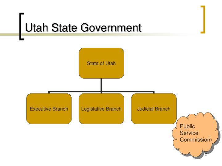 Utah State Government