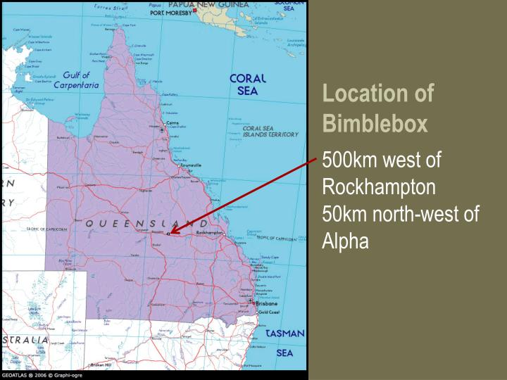 Location of Bimblebox