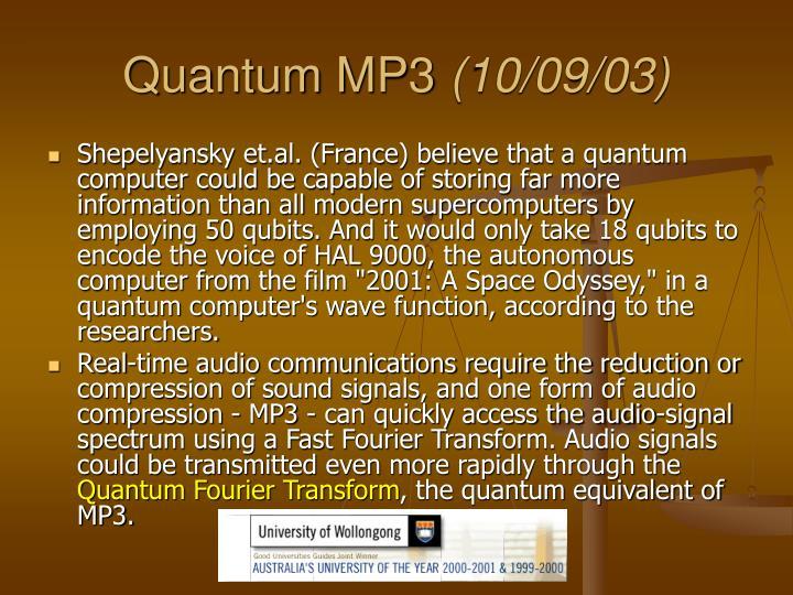 Quantum MP3