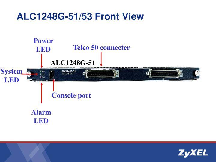 ALC1248G-51/53 Front View