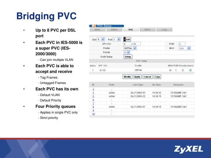Bridging PVC