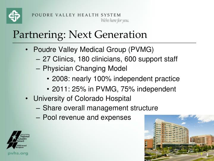 Poudre Valley Medical Group (PVMG)