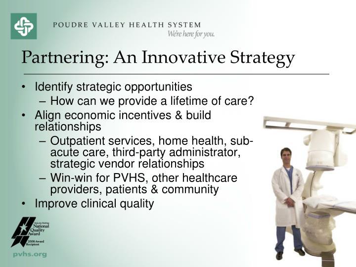 Identify strategic opportunities