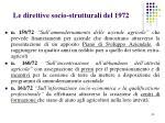 le direttive socio strutturali del 1972