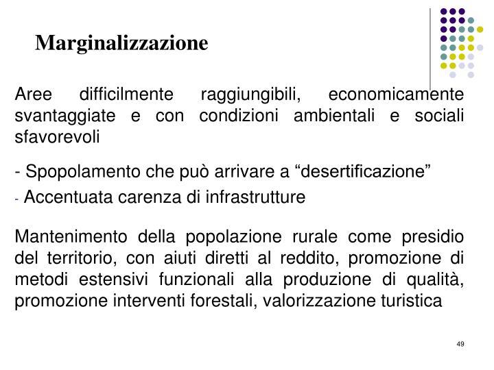 Marginalizzazione