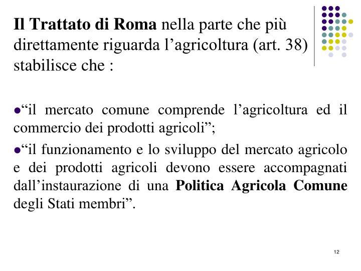 Il Trattato di Roma