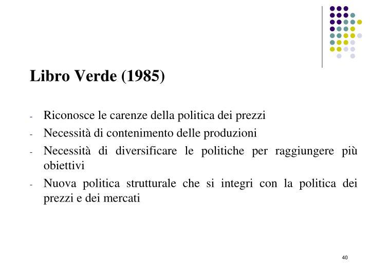 Libro Verde (1985)