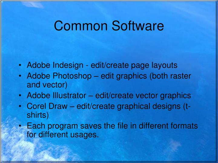 Common Software