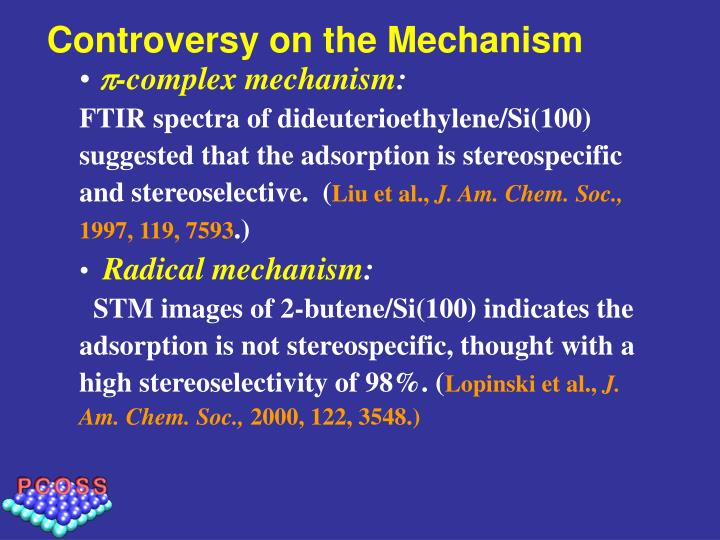 Controversy on the Mechanism