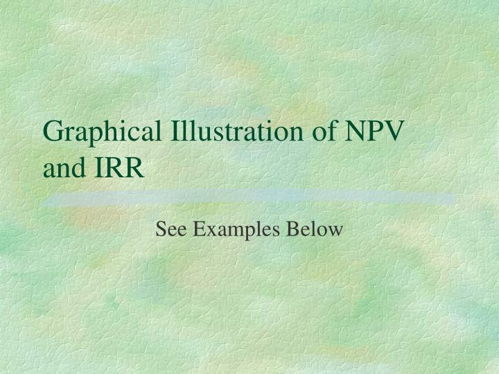 Graphical Illustration of NPV and IRR