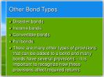 other bond types